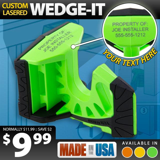 Laser Wedge-It