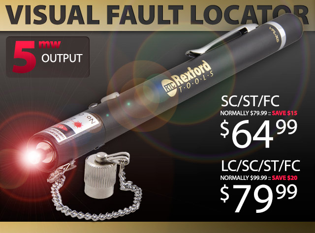 Rexford Tools Visual Fault Locator