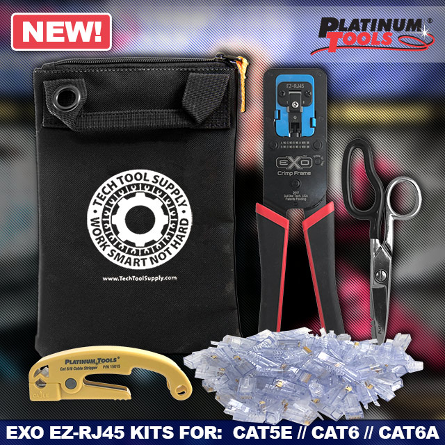 Platinum Tools NEW exRJ45 Kits