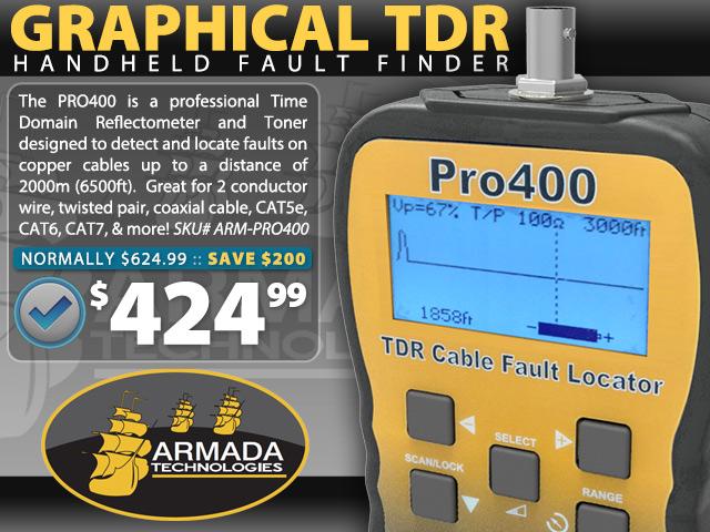 Armada Graphical TDR
