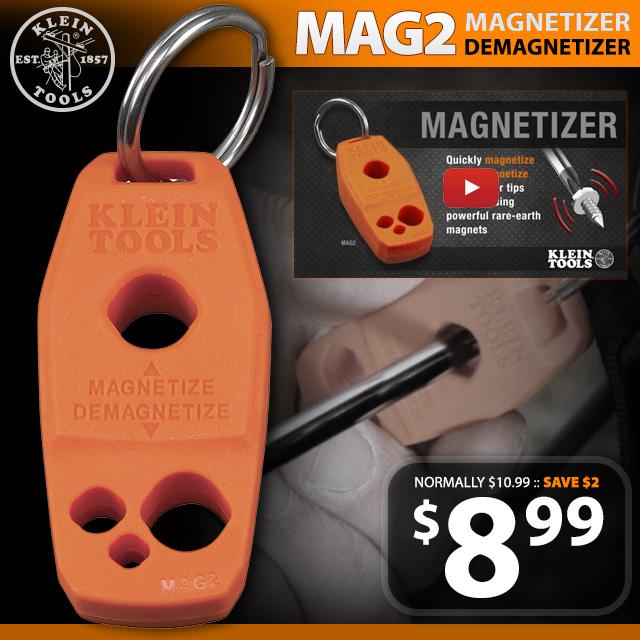 MAG-2 Keychain Magnetizer