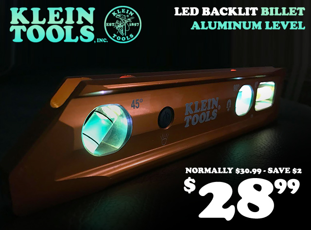 LED Backlit Level