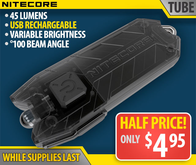 Nitecore TUBE Flashlight