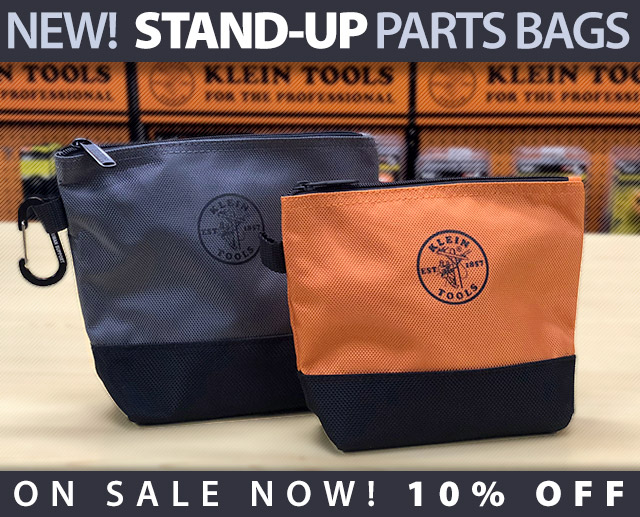 Klein Tools Stand Up Bags