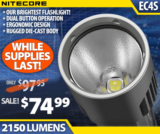 Nitecore EC4S SALE
