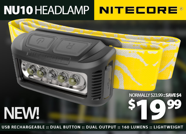 Nitecore Headlamp