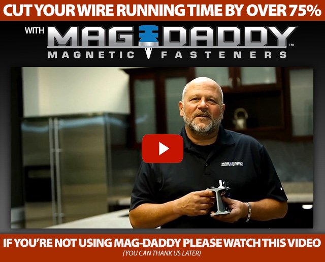 Mag-Daddy MAgnetic Wiring Clips