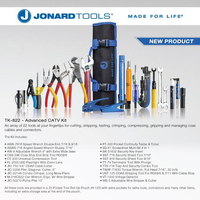 Jonard Tools NEW TK-822