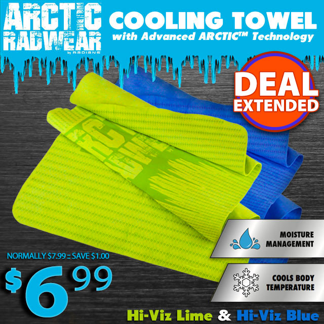 Radians Cooling Towels