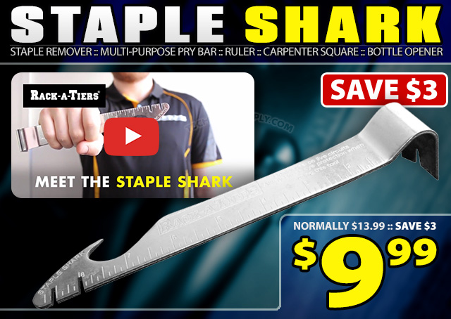 Rack-A-Tiers Staple Shark