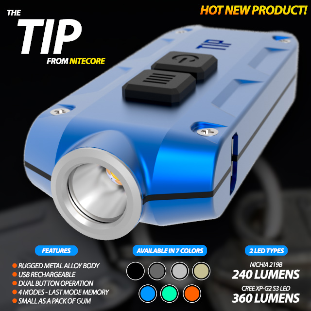 Nitecore TIP Flashlight