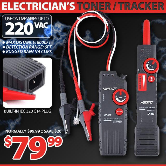 220V Electricians Toner / Tracker