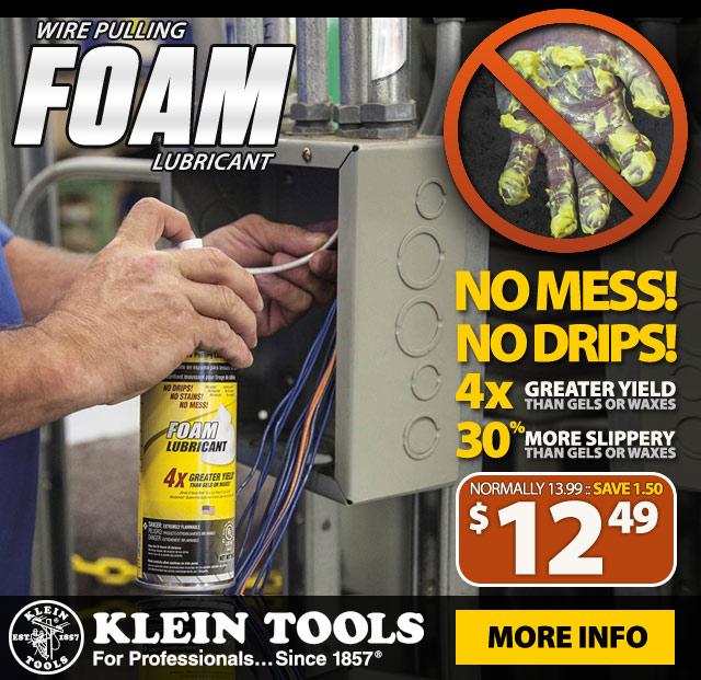 Klein Tools Foam Lubricant