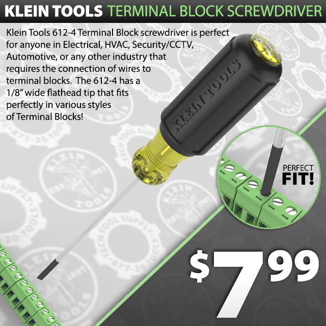 Klein Tools Terminal Screwdriver