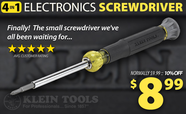 4-in-1 Klein Screwdriver