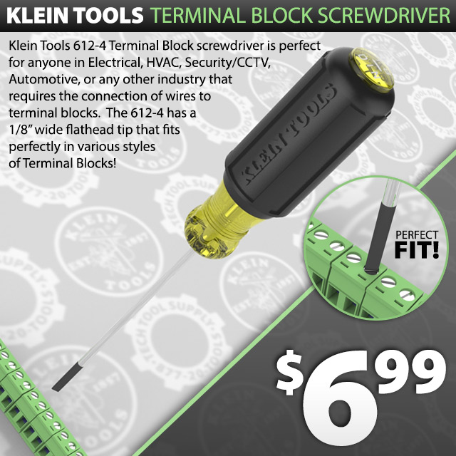 Klein Tools Terminal Screwdriver