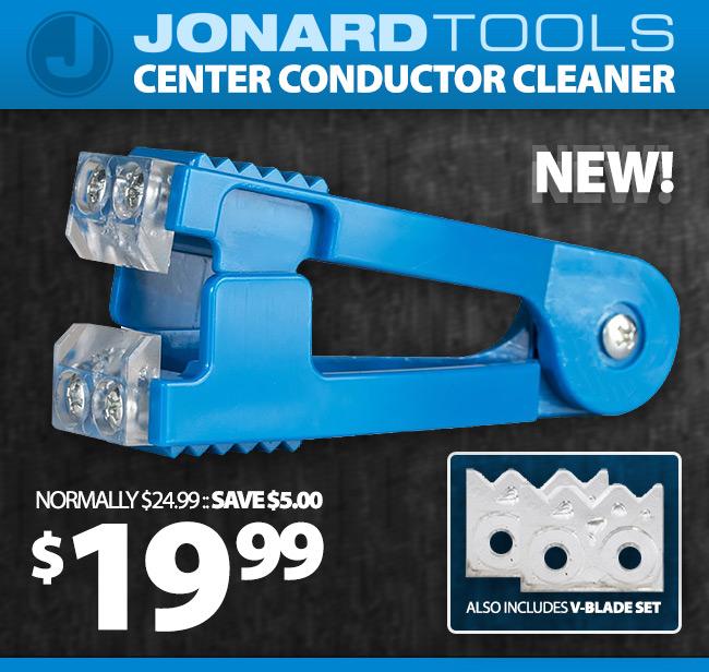 Jonard Center Conductor Cleaner