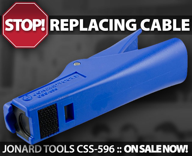 STOP Replacing Cable