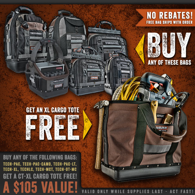 FREE $105 Cargo Tote Offer