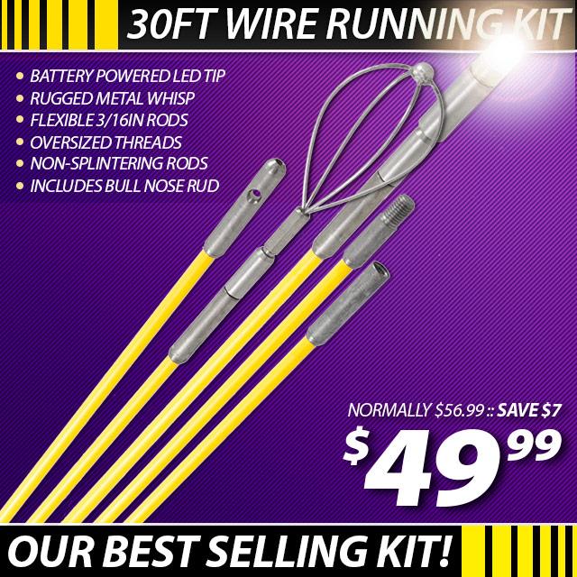 TTS 30ft Glow Rod Kit