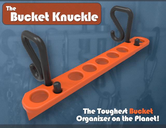 Bucket Knuckle Tool Organizer