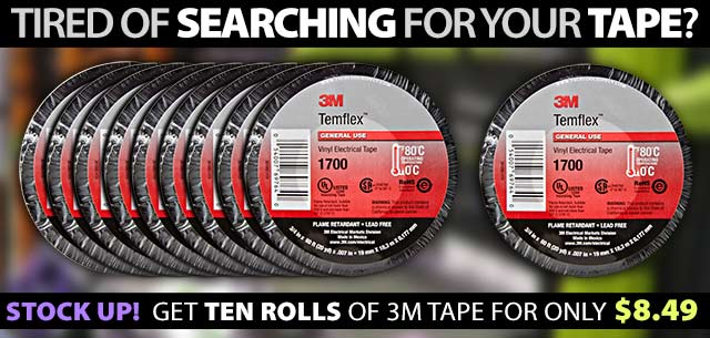 Electrical Tape 10 Pack