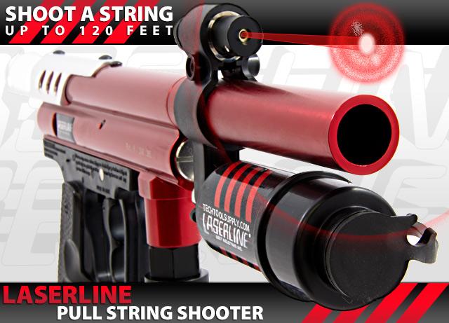LaserLine Pull String Shooter - Get 120