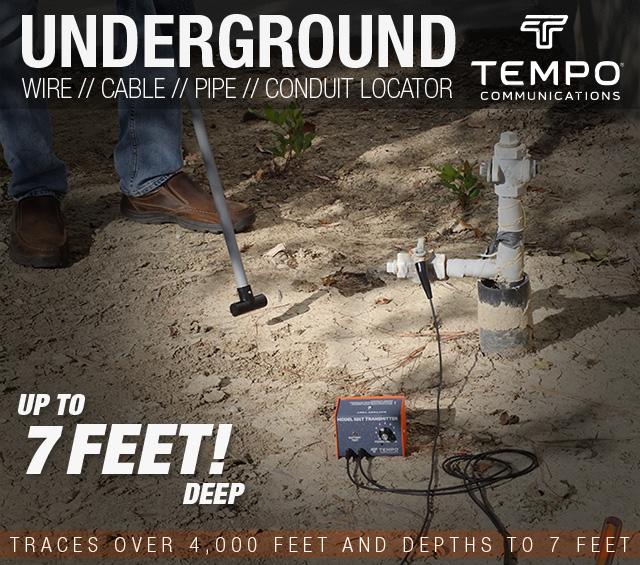 Tempo  Underground Wire Pipe Locator