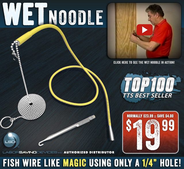 Labor Saving Devices Wet Noodle Fish Kit