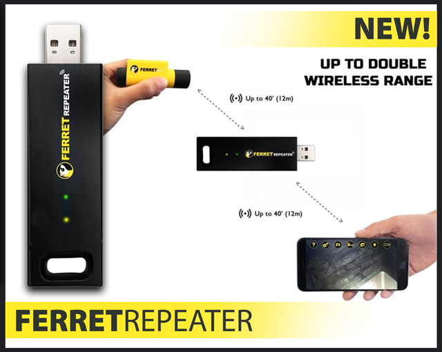 Cable Ferret WiFi Repeater