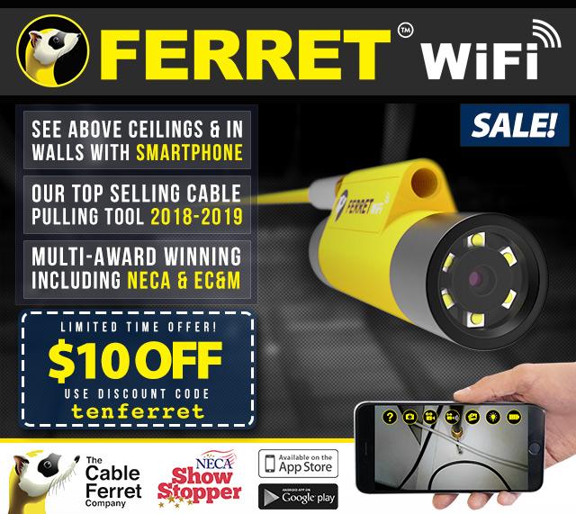 Ferret WiFi Smartphone  Inspection Camera Kit