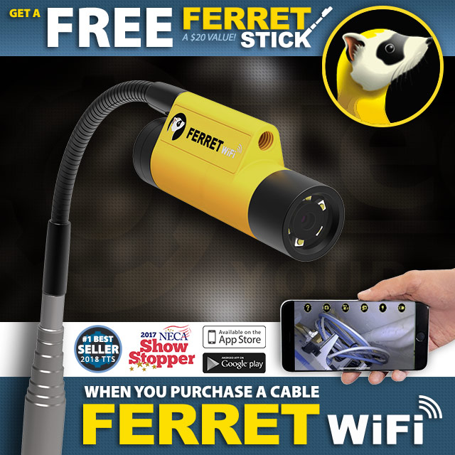 Buy a Cable Ferret Wifi and Get a Free Ferret Stick