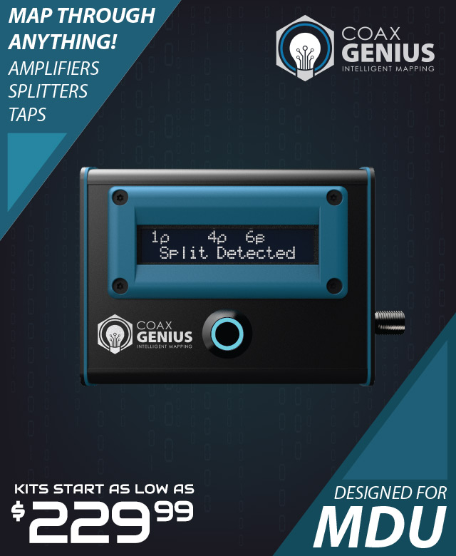 Coax Genius MDU Mapping made SIMPLE!