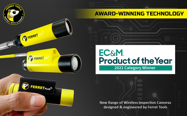 Cable Ferrets 2021 EC&M Product of the Year Winner