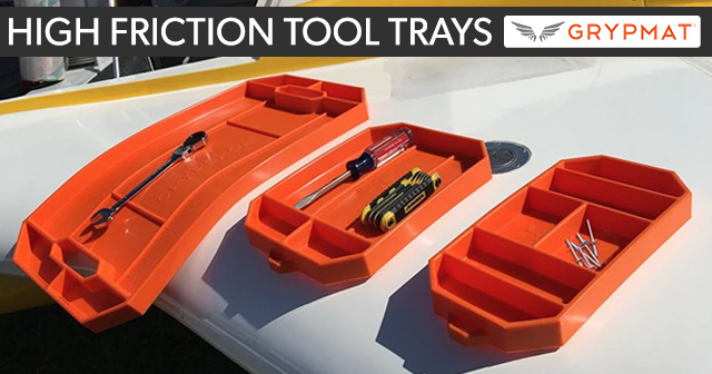 Grypmat High Friction Tool Trays