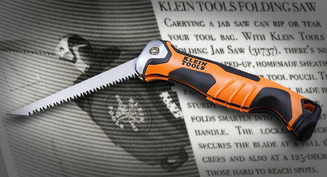 Klein Tools Folding Jab Saw