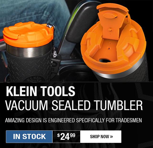 Klein Tools Vacuum Sealed Tumbler