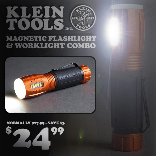 Klein Tools Combo Flashlight/Worklight