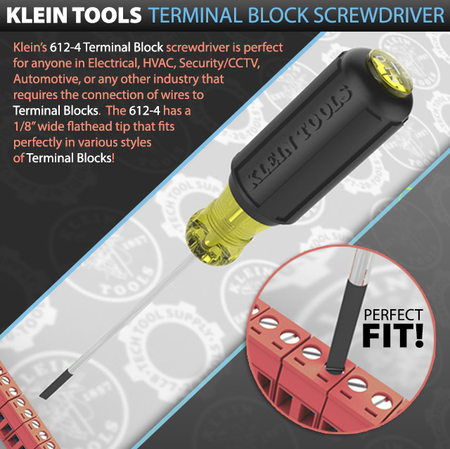 Klein Tools Terminal Block Screwdriver