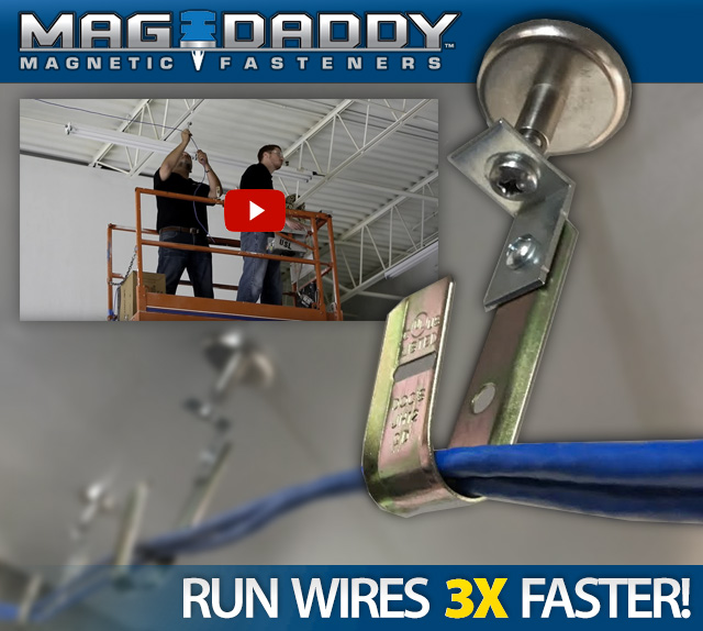 Mag-Daddy Magnetic Wire Hangers