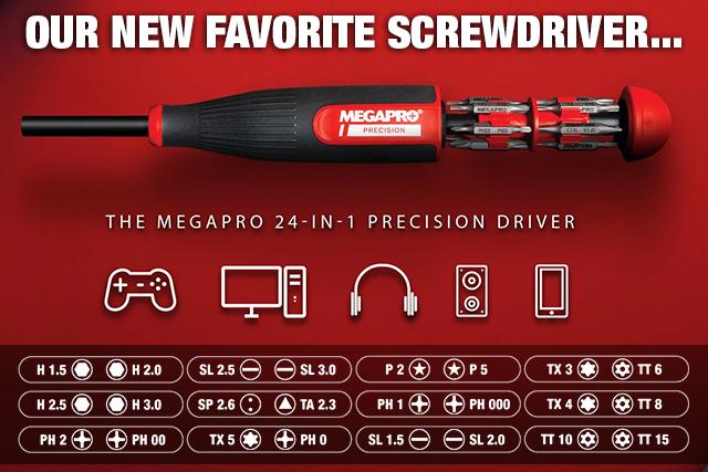 NEW!  Megapro 24-in-1 Precision Screwdriver