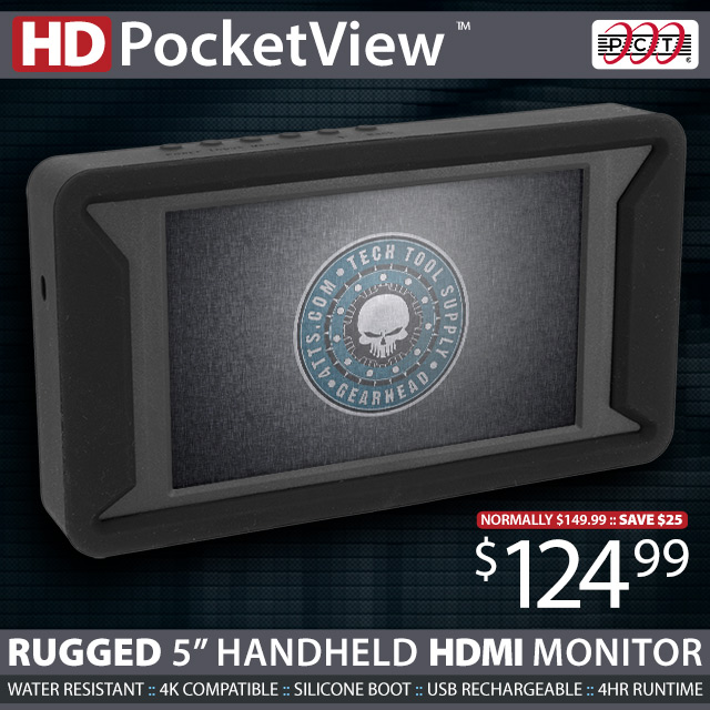 HD PocketView Handheld 5in HDMI Display