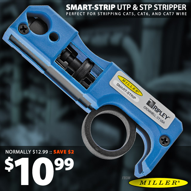 Ripley UTP & STP Data Cable Strip Tool