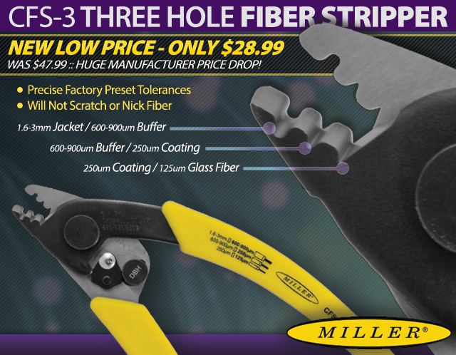 Ripley Miller CFS-3 Fiber Optic Stripper