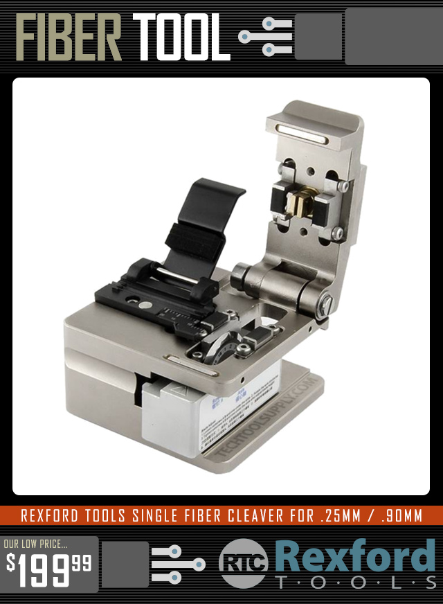 Rexford Tools Fiber Cleaver