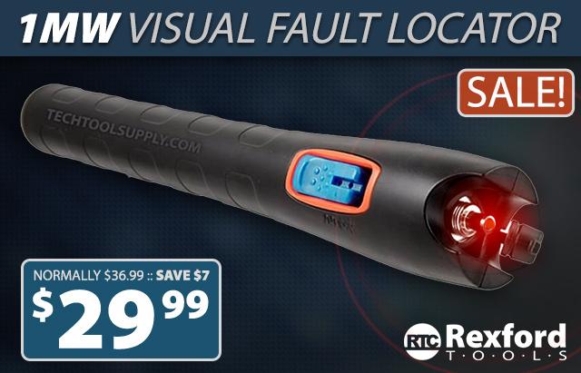 Rexford Tools Visual Fault Locator