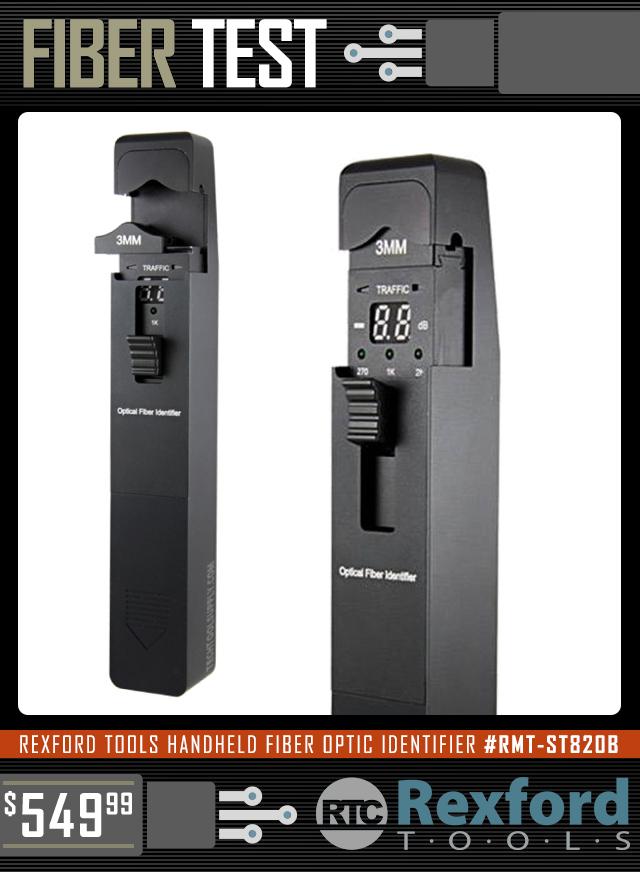 Rexford Tools Handheld Fiber Optic Identifier