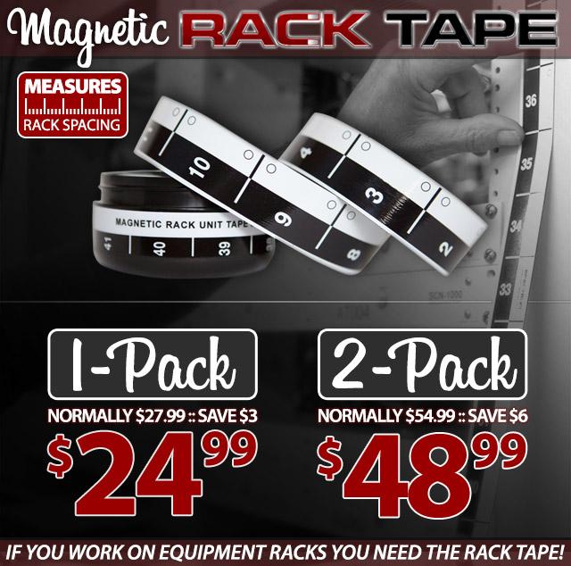 Magnetic Rack Space Measuring Tape