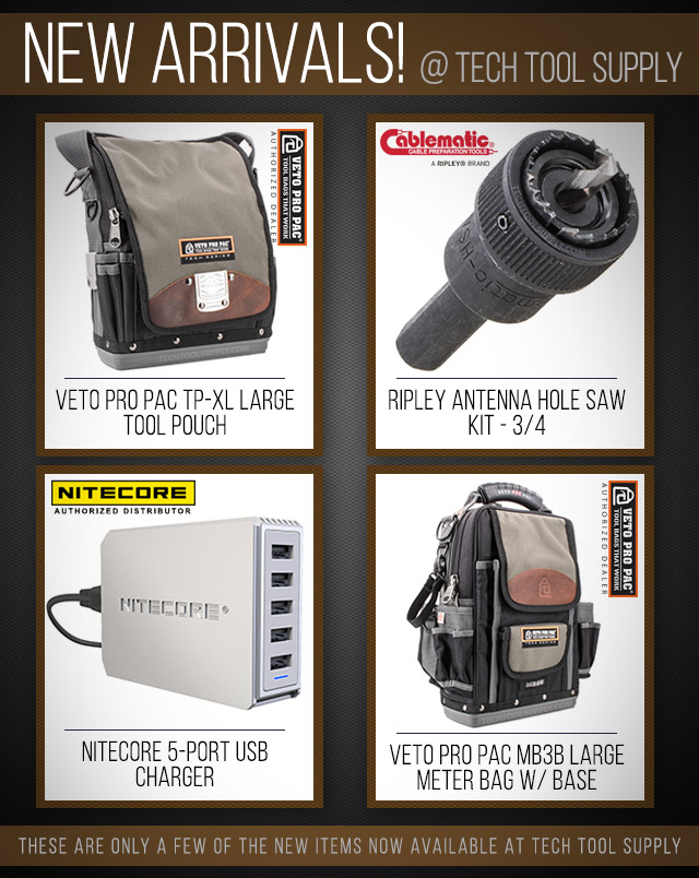 New Product Arrivals @ Tech Tool Supply