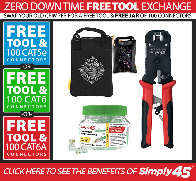 Simply 45 Zero Down-Time Tool Exchange Offer